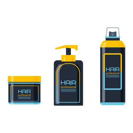 hair gel: Gel foam or liquid soap dispenser pump plastic hair shampoo bottle. Ready hair shampoo bottle design. Vector hair shampoo bottle healthy hygiene scented treatment lotion cream.