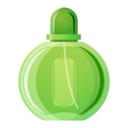 perfume bottle: Vector perfume fashion container smell spray. Vector illustration perfume shop symbols elegant merchandise gift. Beauty liquid luxury fragrance aroma perfume bottle aromatherapy.