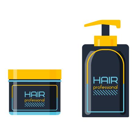 scented: Gel foam or liquid soap dispenser pump plastic hair shampoo bottle. Ready hair shampoo bottle design. Vector hair shampoo bottle healthy hygiene scented treatment lotion cream.