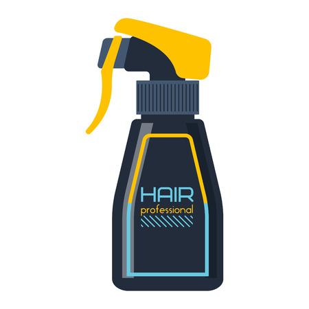 medical shower: Gel foam or liquid soap dispenser pump plastic hair shampoo bottle. Ready hair shampoo bottle design. Vector hair shampoo bottle healthy hygiene scented treatment lotion cream.