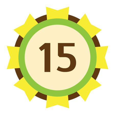 date of birth: Birthday badge banner design flat background. Happy birthday badges celebration design emblem sign. Anniversary card happy birthday badge birth date paper sticker vector symbol.