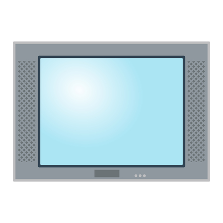 display size: TV screen lcd monitor template vector illustration. Electronic device TV screen infographic. Technology digital device TV screen, size diagonal display vector illustration. Screen monitor