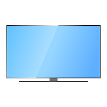 lcd display: TV screen lcd monitor template vector illustration. Electronic device TV screen infographic. Technology digital device TV screen, size diagonal display vector illustration. Screen monitor
