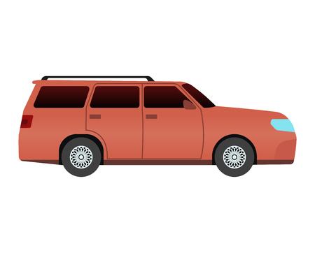 sedan: Car sedan vehicle transport type design sign technology style vector. Generic sedan car design flat vector illustration isolated on white. Transport sedan object Illustration