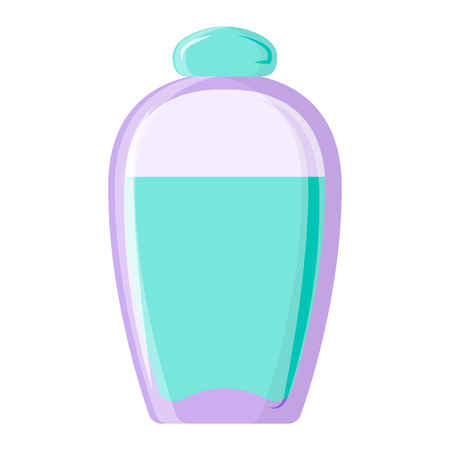 parfume: Blank package container design and parfume package template. Blank package merchandise product liquid clean household. Highly detailed flat colorful cosmetics blank package icon vector.