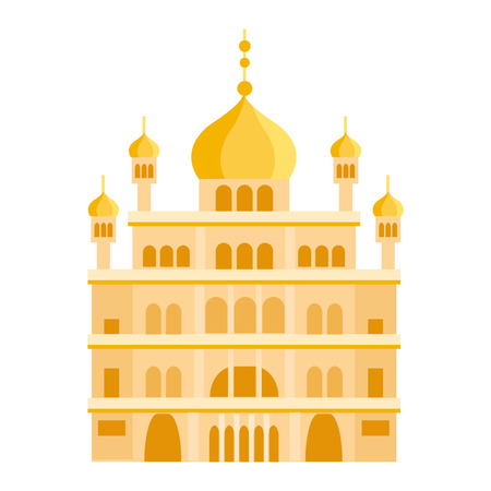 place of worship: Cathedral and churche infographic temple building landmark tourism vector. Temple building world religions. Cathedral and churche temple building.