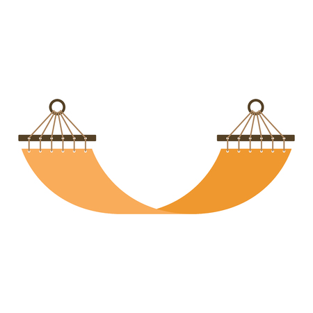 Vector hammock bed icon interior home rest. Bed vector sleep furniture icon. Bed vector house information bedtime modern service sleep furniture.