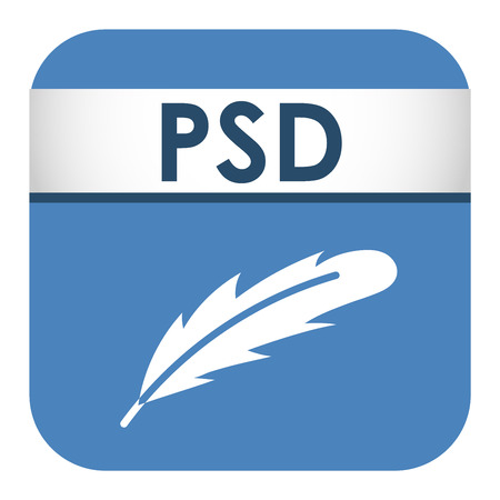 file type: Simple vector square file type and format label icon. File type format icon symbol. Some file extension file type icon graphic sign application software