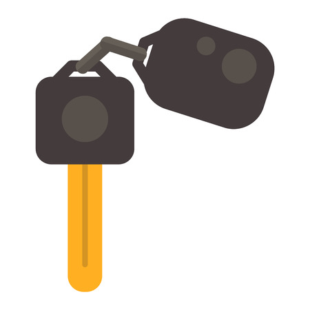 Car key with remote control and car keys vector. Car keys automobile security lock and car keys remote control alarm. Car keys transportation new unlock object, car keys wireless technology.