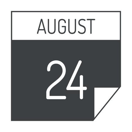 calendar icon: Calendar icon vector isolated graphic reminder element message symbol. Calendar icon message template shape office calendar icon appointment. Binder schedule calendar icon.