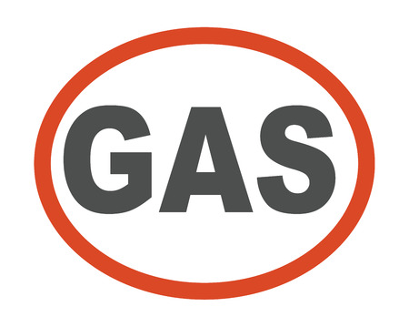 oil and gas industry: Gas oil station logo processing factory icon silhouette pipeline. Chimney associated gas oil station logo caption industry. Petroleum vector gas oil station logo industry power symbol. Illustration