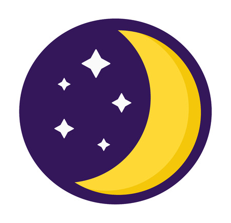 rest: Sleep time icon flat isolated vector illustration. Sleep icon sweat dream. Night rest human sleep icon