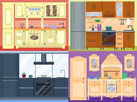 modern kitchen: Residential interior of modern kitchen in luxury mansion. House architecture new modern furniture kitchen design estate luxury room decor. Residence property kitchen design domestic indoors plan.