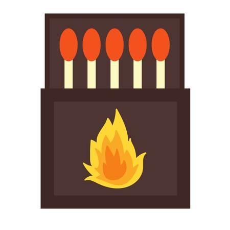 encendedores: Paquete de quema de los partidos. Los fósforos y encendedores calientes. Partidos se encienden y encendedores inflamables brillantes. quema de partidos palos