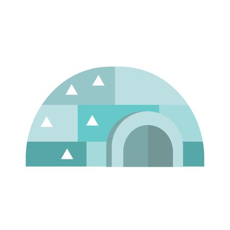 eskimo: Eskimo house vector illustration.