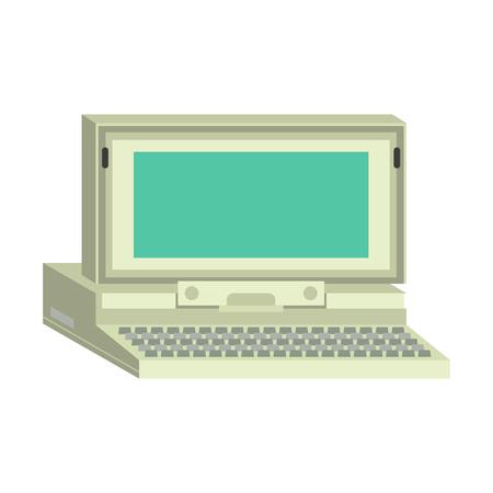 Ilustración vectorial de ordenador. Foto de archivo - 69812633