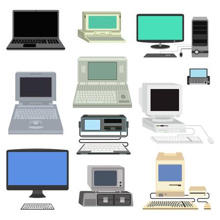 Ilustração vetorial de computador. Foto de archivo - 69991572