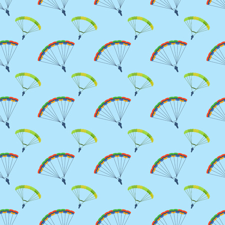 Ballon aerostat transport seamless pattern vector. Illustration