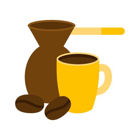 Coffe cup vector illustration.