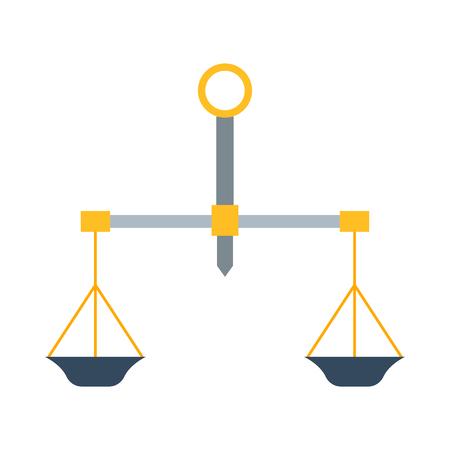 Instrumentation: Weight measurement instrumentation tool vector.