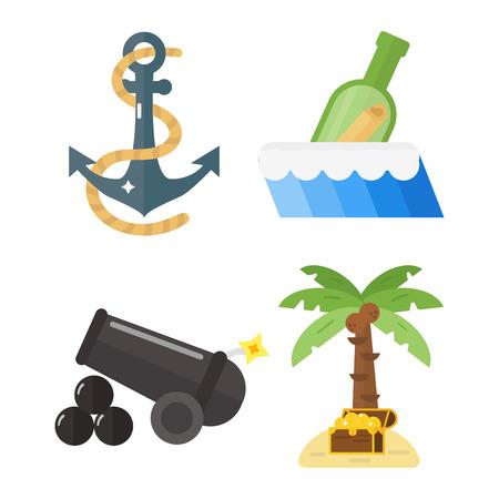 Treasures pirate adventures toy accessories set.