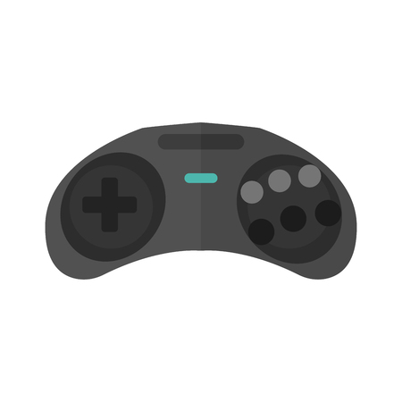 Game console joystick vector illustration