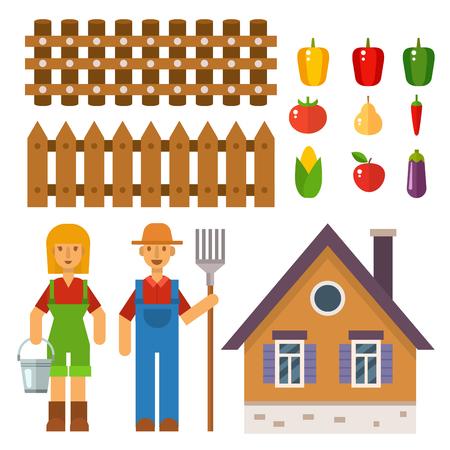 Quipement de récolte agricole agricole pour l'agriculture et l'horticulture fruits naturels sains Agriculteurs Banque d'images - 80710571