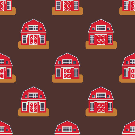 Historical city modern world seamless pattern distinctive house building front face facade set for tourists cartoon architecture vector illustration. Cottage residential construction cityscape. Stock fotó - 83487213