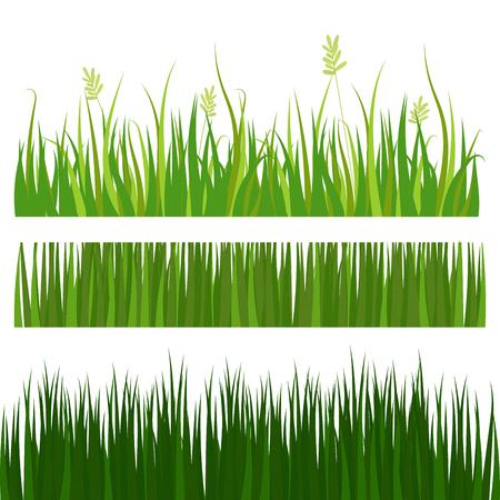 Jardinagem do verão da ecologia do prado da natureza do gramado da planta da beira da grama verde. Foto de archivo - 83566583