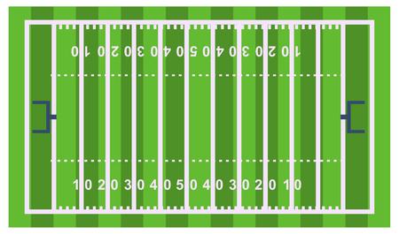 サッカー サッカー フィールド プレーヤー トロフィー競争のゲームはスコア勝つフラットなデザイン スポーツ ベクトル図を再生
