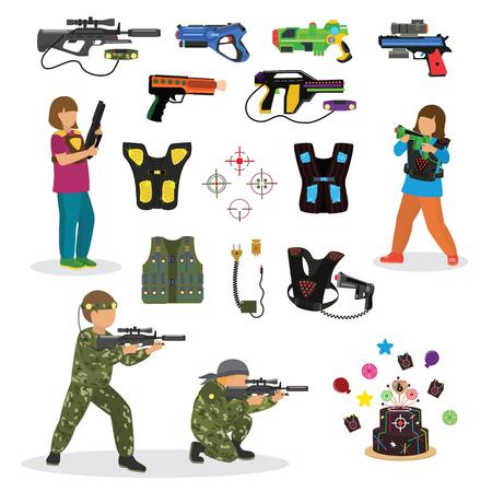 185 airsoft gun stock vector illustration and royalty free airsoft rh 123rf com Laser Tag Arena Laser Tag Symbols