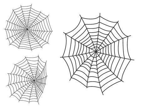 araignée web silhouette émoticône peur graphique plat animal effrayant nature insecte vecteur animal piège à feu icône vecteur Vecteurs