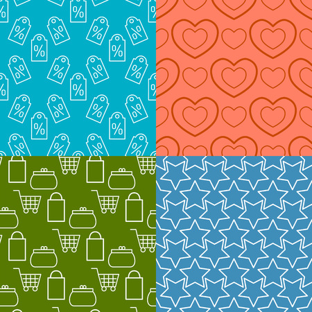 Colorful website web e-shop buttons design vector illustration glossy graphic seamless pattern internet confirm template banner. Rounded blank business navigation download interface.