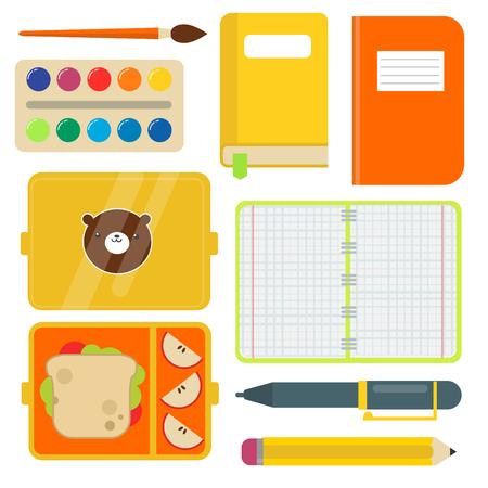 School supplies children stationary