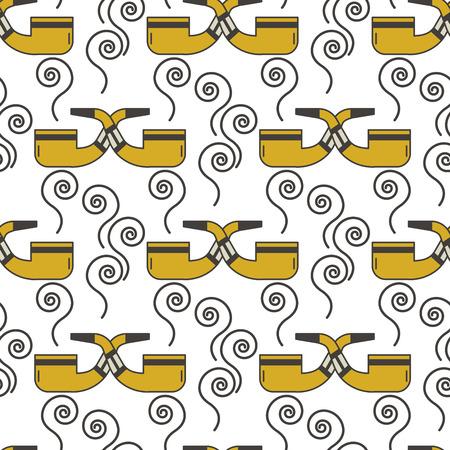 Vape device vector seamless pattern cigarette vaporizer vapor juice vape bottle flavor illustration battery coil. Trend new culture electronic nicotine liquid. Smoking atomizer device e-liquid.