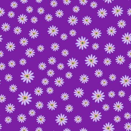 Beautiful tropical flower seamless pattern design