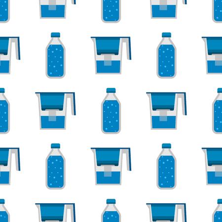 Purification de l'eau sans soudure de fond