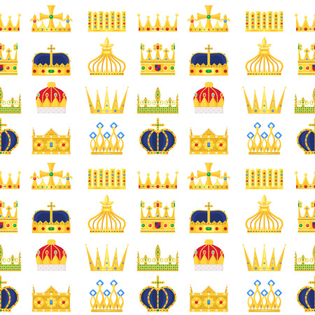 Crown king vintage premium pattern.