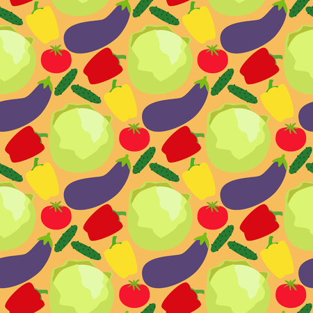Vegetables food cellulose vector peppers tomatoes porridge healthy food seamless pattern background