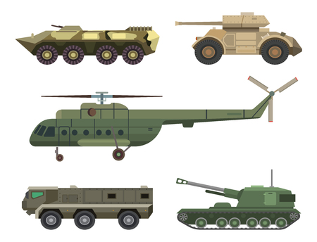 War transportation equipment set