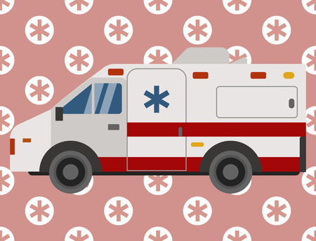 Ambulance emergency car vehicle image illustration