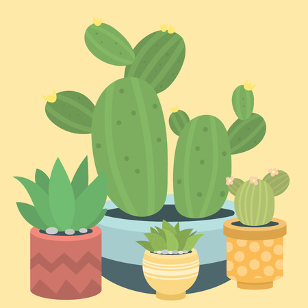 Cactus image illustration Stock Vector - 98353525