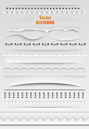 Border vector divider line and bordering frame for decoration illustration set of bordered element or borderline for decorative ornament isolated on background