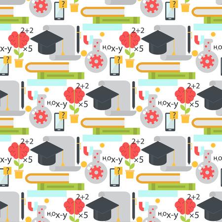 linea di apprendimento senza soluzione di continuità di apprendimento sfondo linea di apprendimento di istruzione di programmazione di programmazione di apprendimento di apprendimento di apprendimento di istruzione di istruzione vettoriale