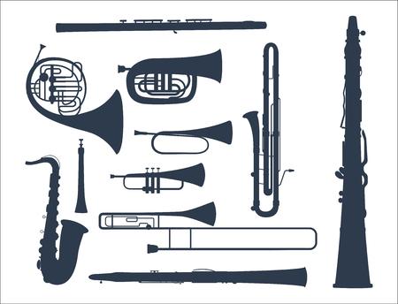 Instruments de musique instrument acoustique instrument instrument musicien vecteur illustration Banque d'images - 103021348