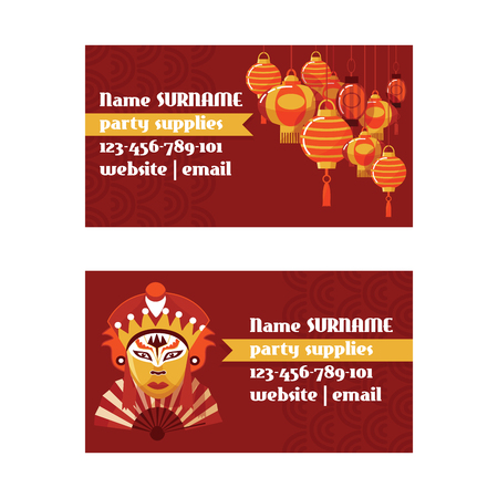 Chinese lantern vector traditional red lantern-light and oriental decoration of china culture for asian celebration illustration set of backdrop festival decor light background. 版權商用圖片 - 126239720