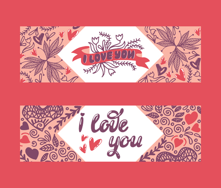 Love lettring vector lovely calligraphy lovable sign sketch iloveyou on Valentines day beloved card illustration backdrop set of love decor typography background banner Standard-Bild - 116598779