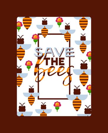 Miel doux vecteur rucher ferme apiculture toile de fond miel abeille insecte cire d'abeille illustration fond d'écran.