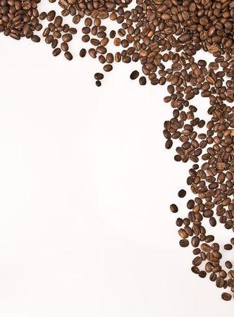 barman: Coffee beans frame