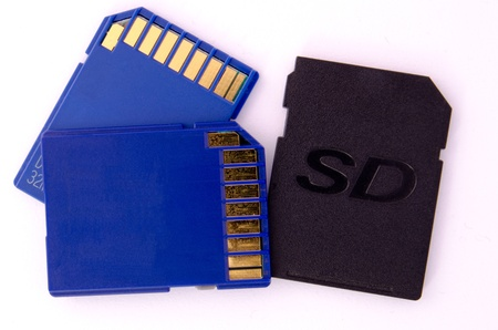 Secure Digital memory cards photo